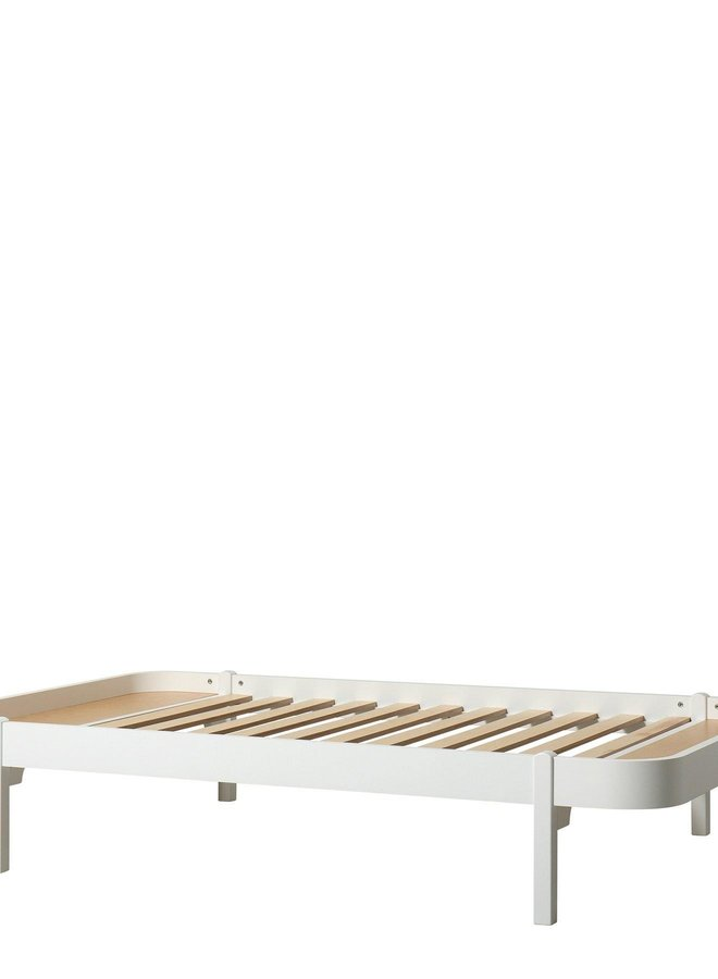Oliver Furniture Wood lounger 120 white