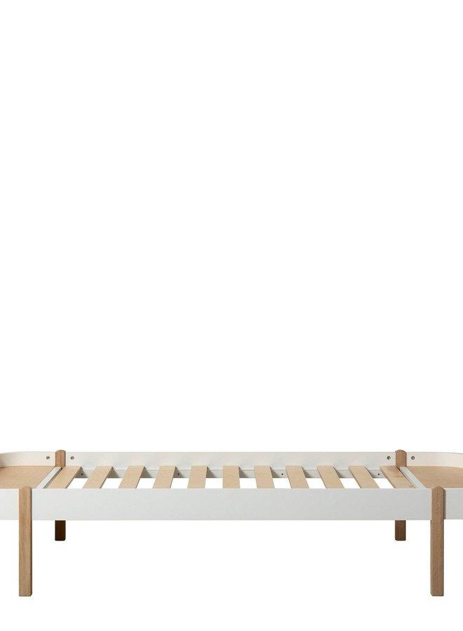 Oliver Furniture Wood lounger 120 white/oak