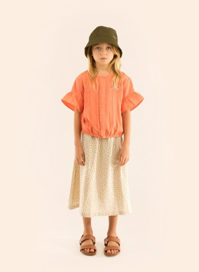 Tinycottons small flowers long skirt