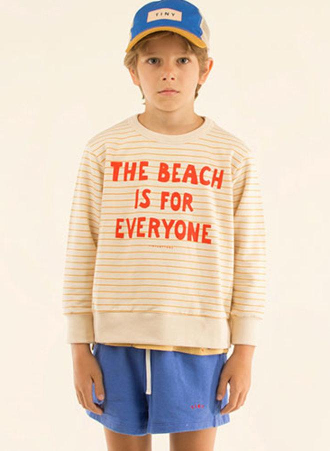 Tinycottons manifesto stripes sweatshirt