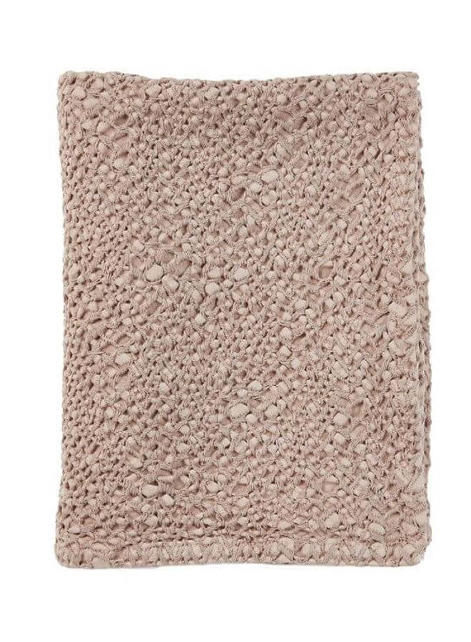 Mies & Co ledikant deken Blossom Powder - subtile honeycomb