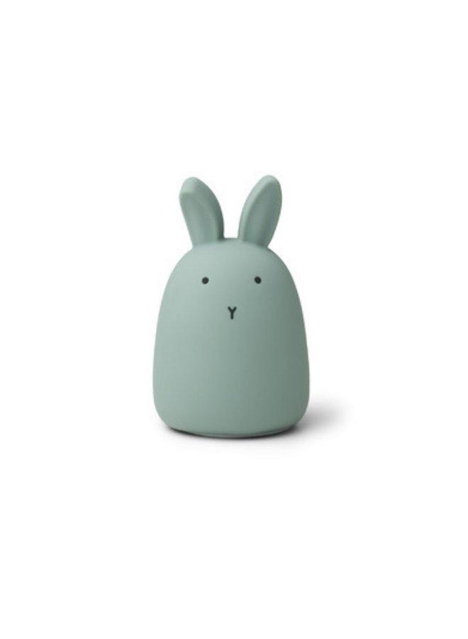 Liewood nachtlampje winston rabbit peppermint