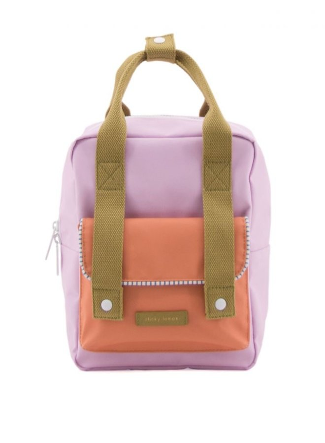 Sticky Lemon Small Backpack Envelope Deluxe Gustave Lilac