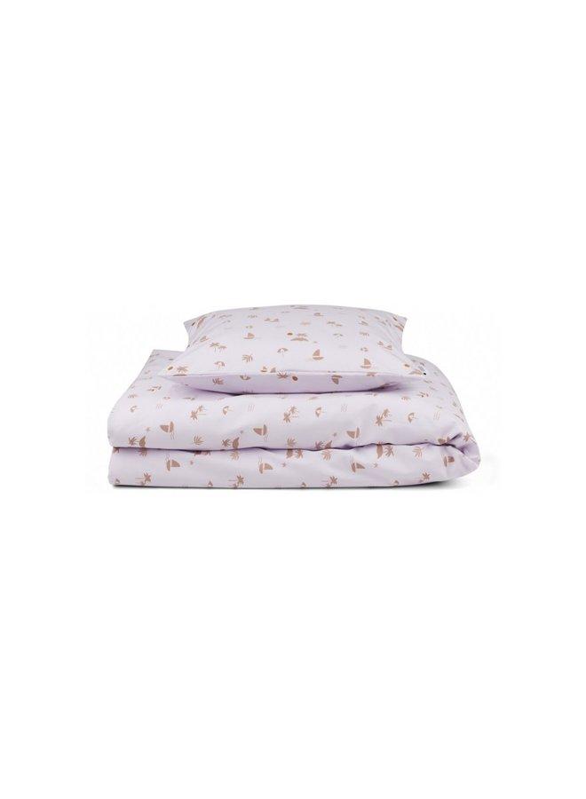 Liewood - Carl adult bedding Seaside Light Lavender
