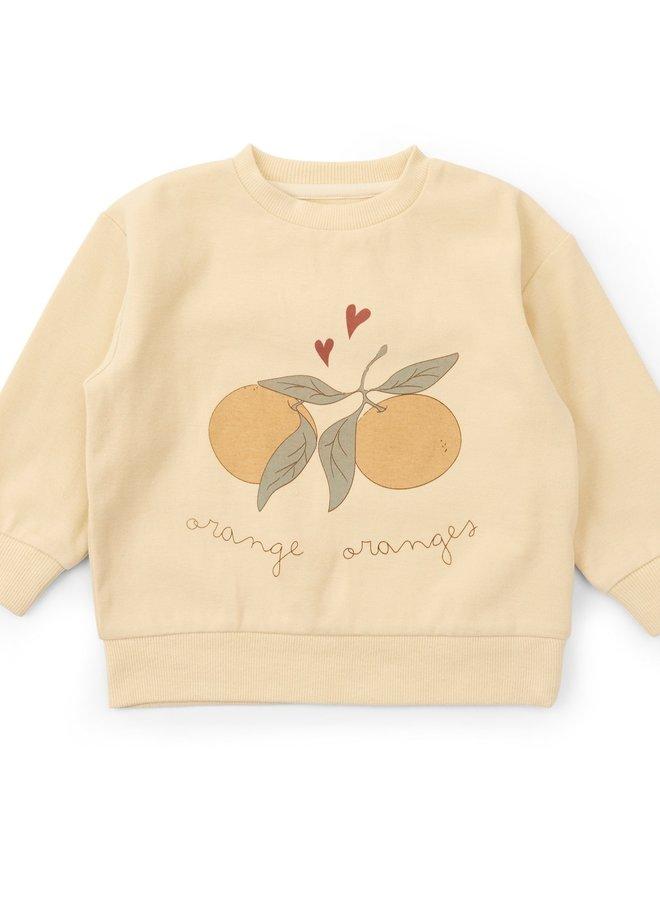 Konges Slojd Lou sweatshirt apricot
