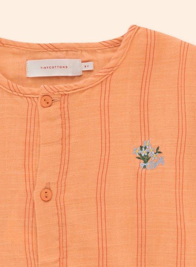 TinyCottons - tiny flowers frills shirt