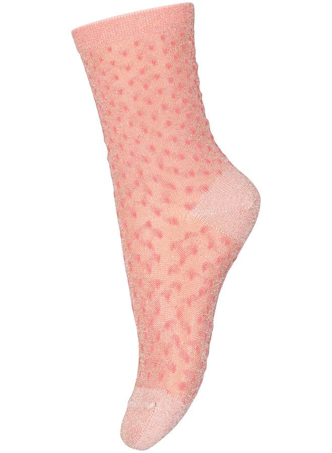 MP Denmark sok Sonia roze glitter 79139