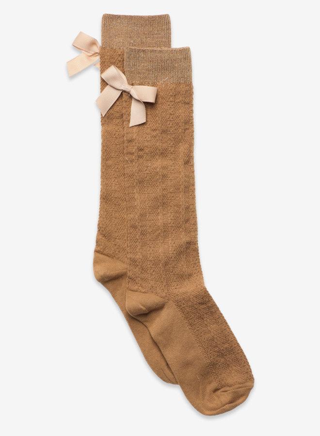 MP Denmark Sofia knee socks with bow 4155