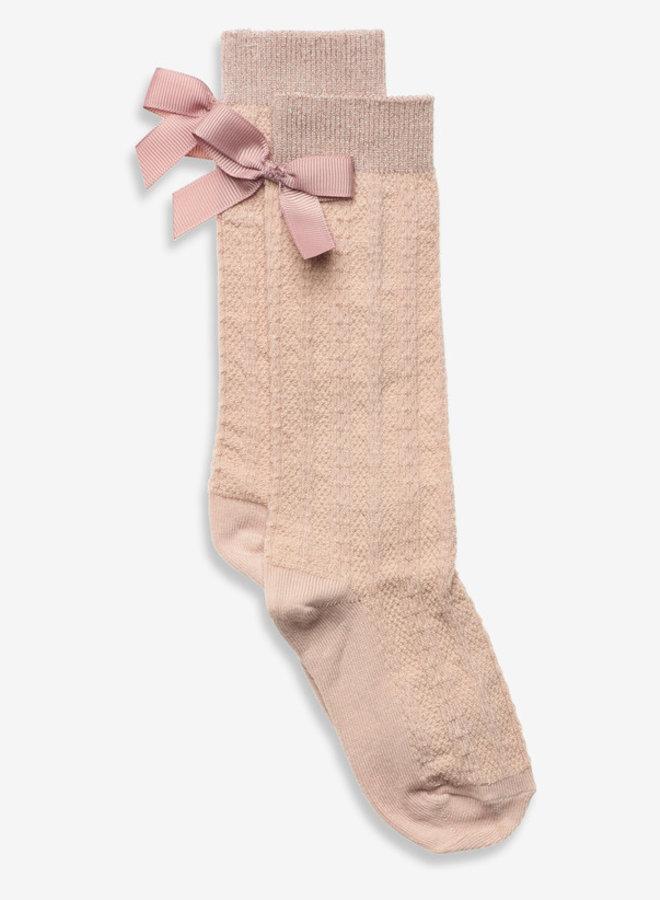 MP Denmark Sofia knee socks with bow 853