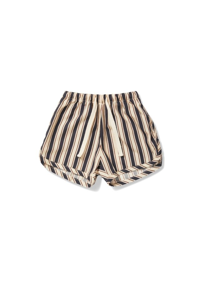 Konges Slojd - verbena shorts stripe navy