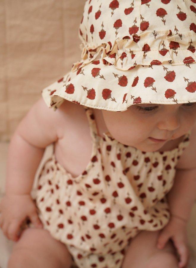 Konges Slojd - acacia romber poppyflower red