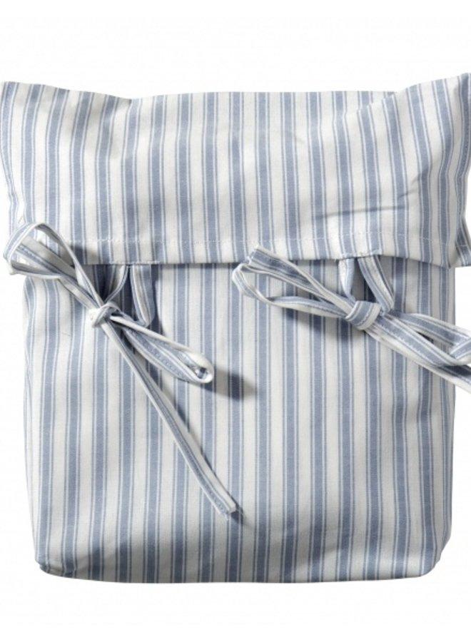 Oliver Furniture curtain for Seaside beds Blue stripe