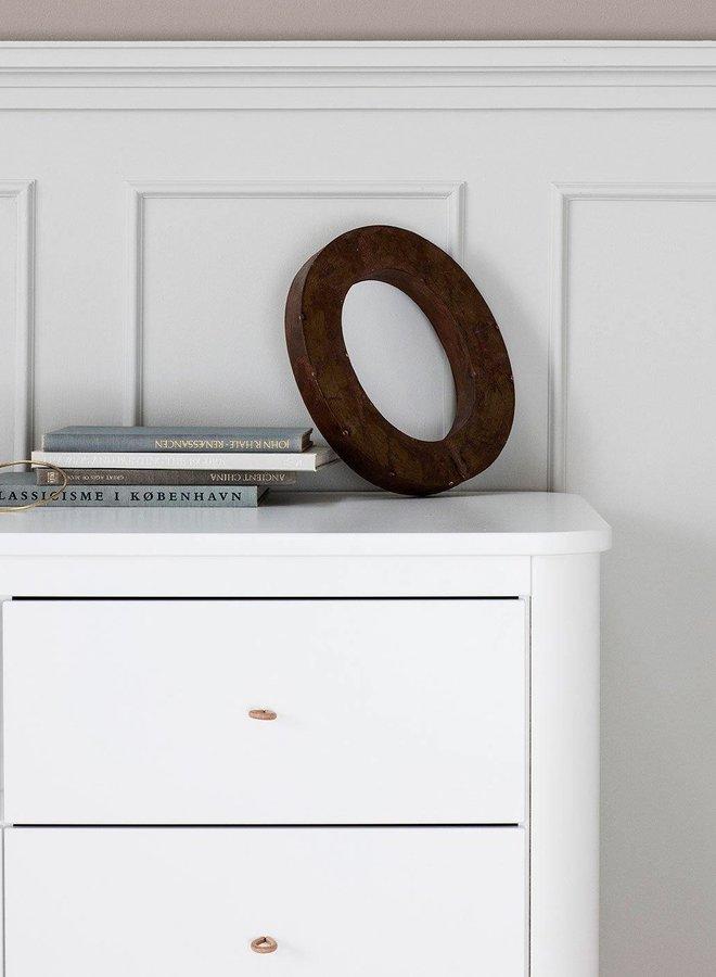 Oliver Furniture Wood dresser 6 drawers, white