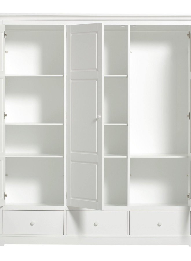 Oliver Furniture Seaside wardrobe 3 doors
