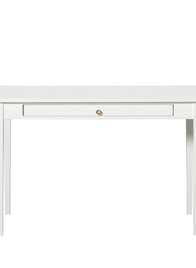 Oliver Furniture seaside table with leather strap