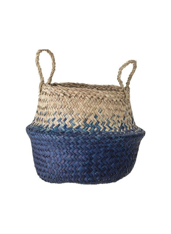 Bloomingville Kiafillippa basket, blue