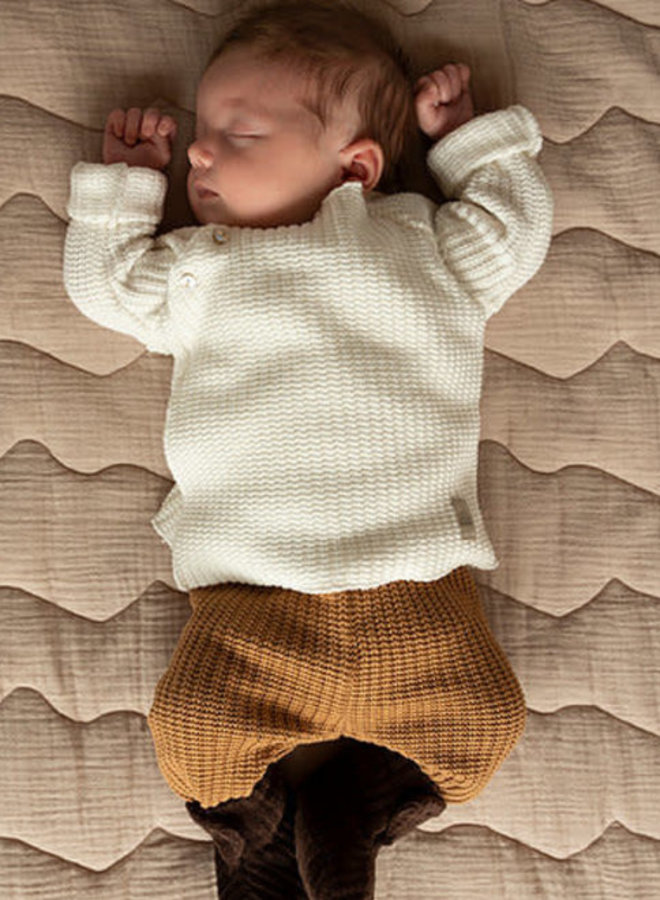 Nanami Baby rib top knitted off-white