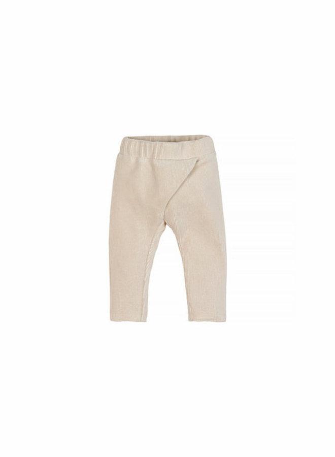 Nanami Baby ribvelvet pants naturel