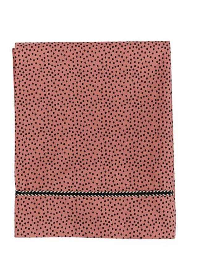 Mies & Co wieglakentje Cozy Dots Redwood