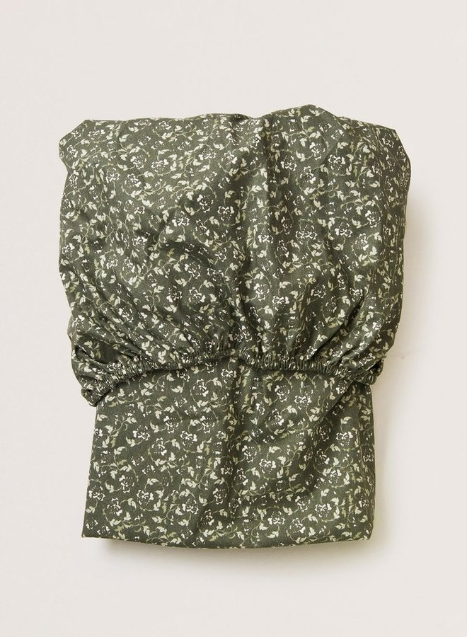 Garbo&Friends - Floral Moss adult fitted sheet