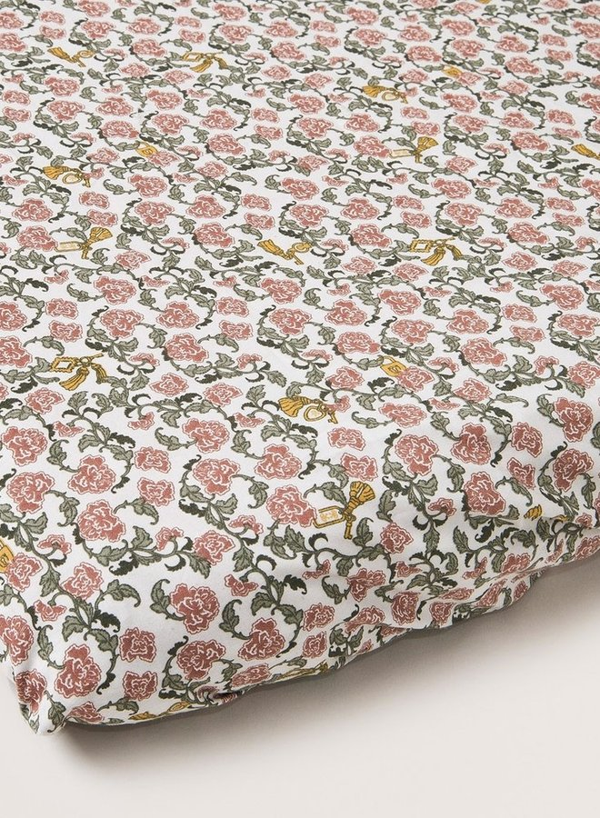 Garbo&Friends - Floral Vine Junior Fitted Sheet 70x140