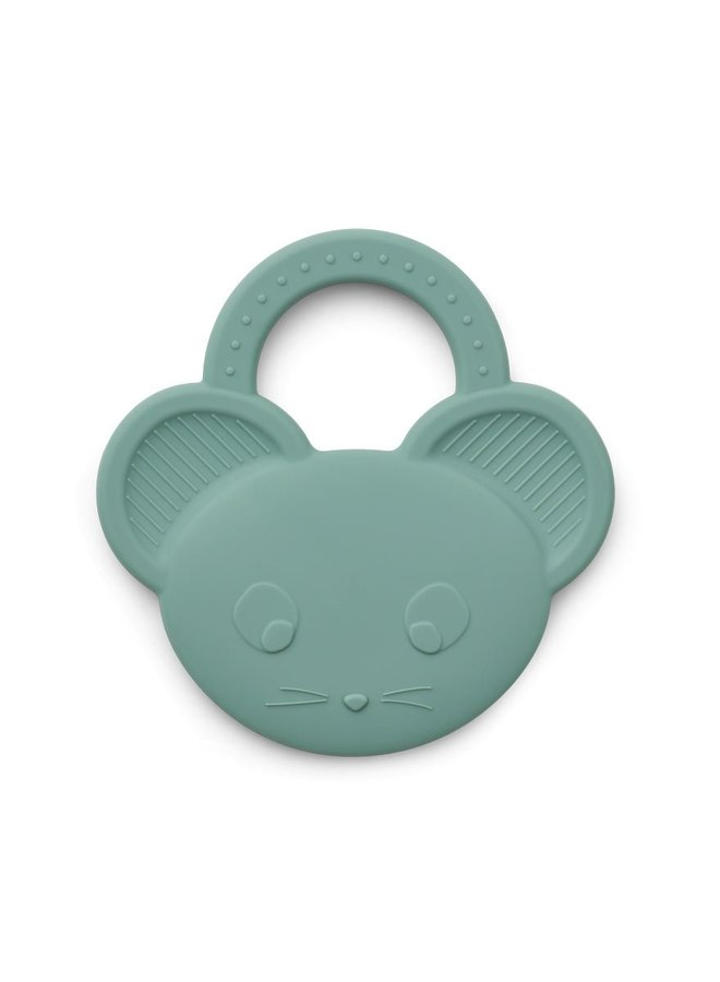 Liewood Gemma teether mouse peppermint