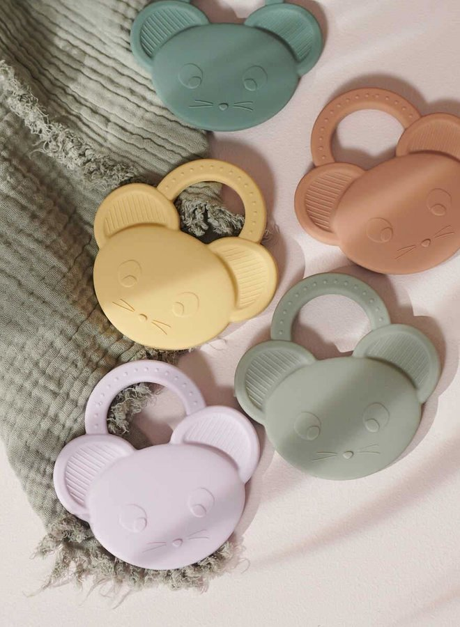 Liewood Gemma teether mouse pale tuscany