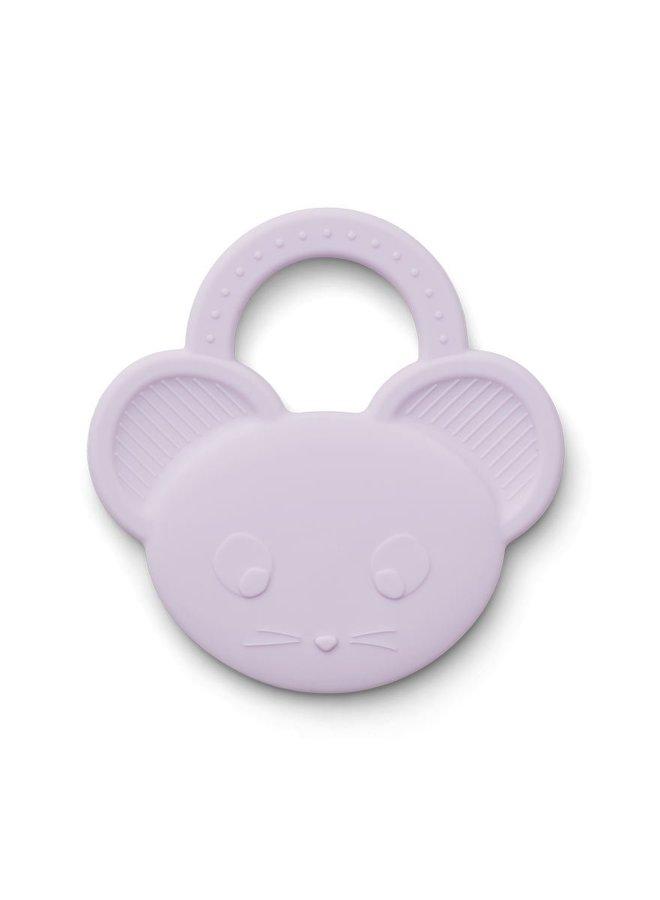 Liewood Gemma teether mouse light lavender