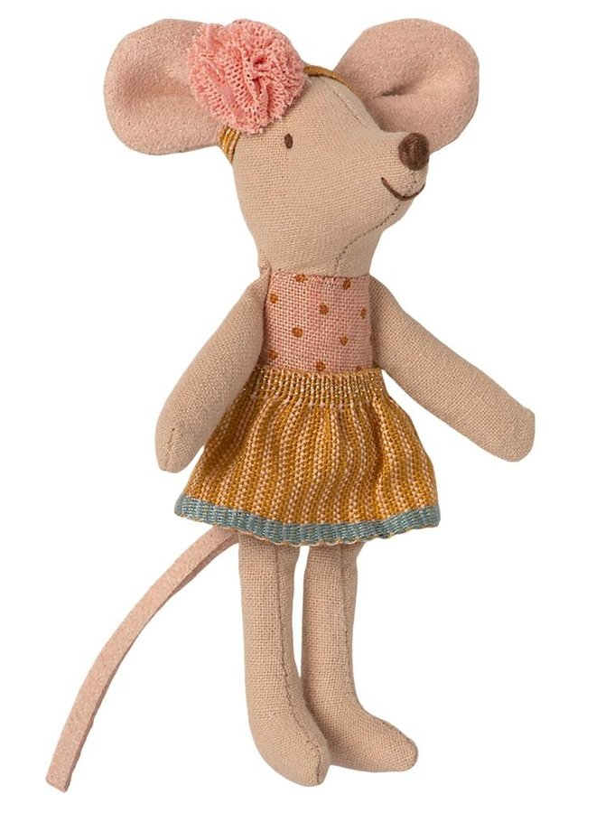 Maileg - little sister mouse in matchbox