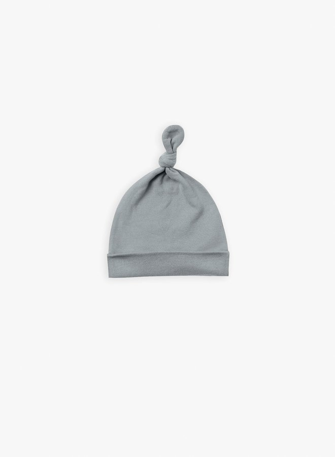 Quincy Mae - knotted baby hat ocean