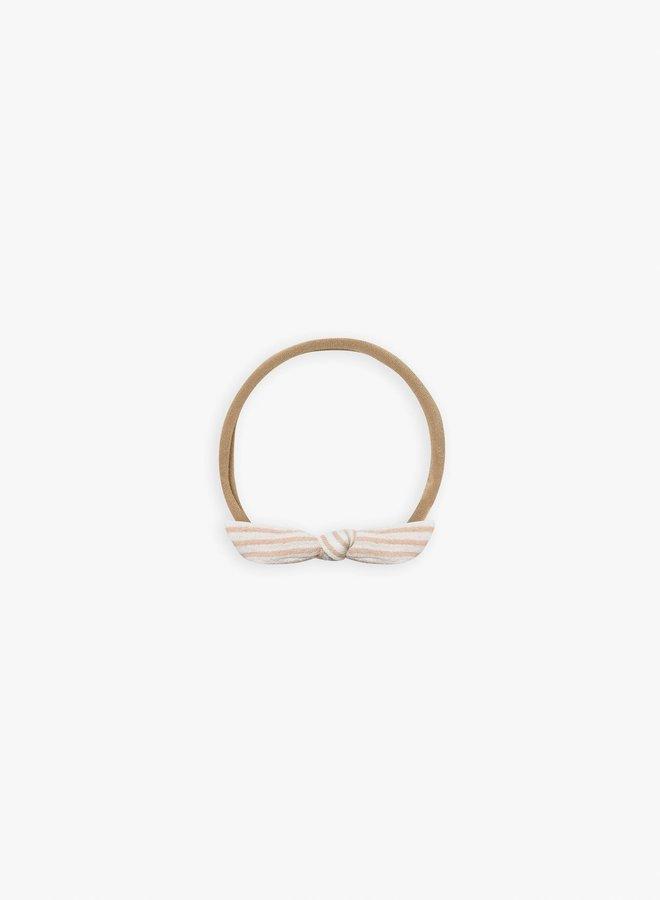 Quincy Mae - little knot headband petal-stripe