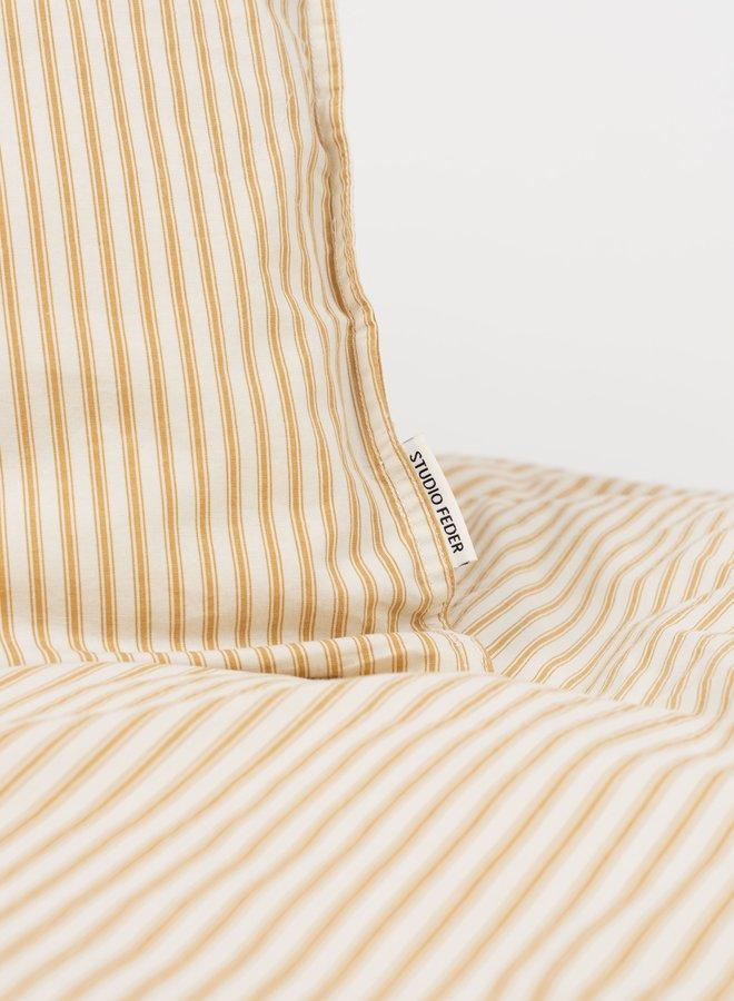 Studio Feder dekbedovertrek Stripe Classic Oak