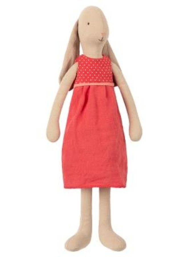 Maileg - bunny size 3 dress red