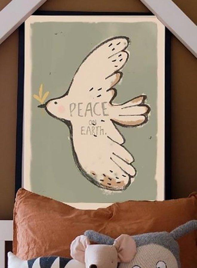 Studio Loco - Peace Bird wallposter