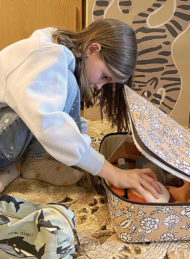 Studio Loco - floral suitcase