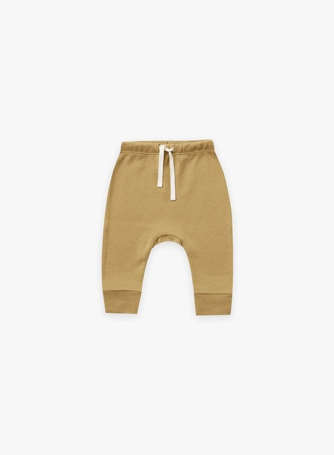 Quincy Mae - drawstring pants gold