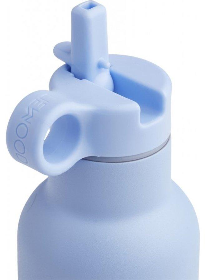 Liewood - Anker water bottle panda sky blue