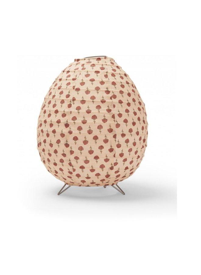 Konges Slojd table lamp poppyflower red