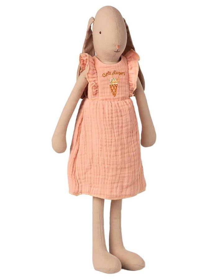 Maileg - bunny size 3 dress rose