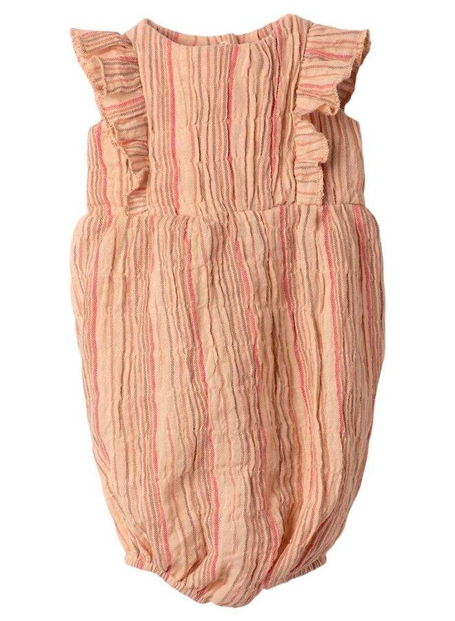 Maileg - Rabbit size 5, striped jumpsuit