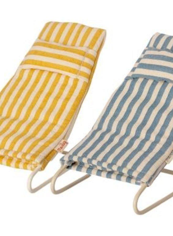 Maileg - beach chair set