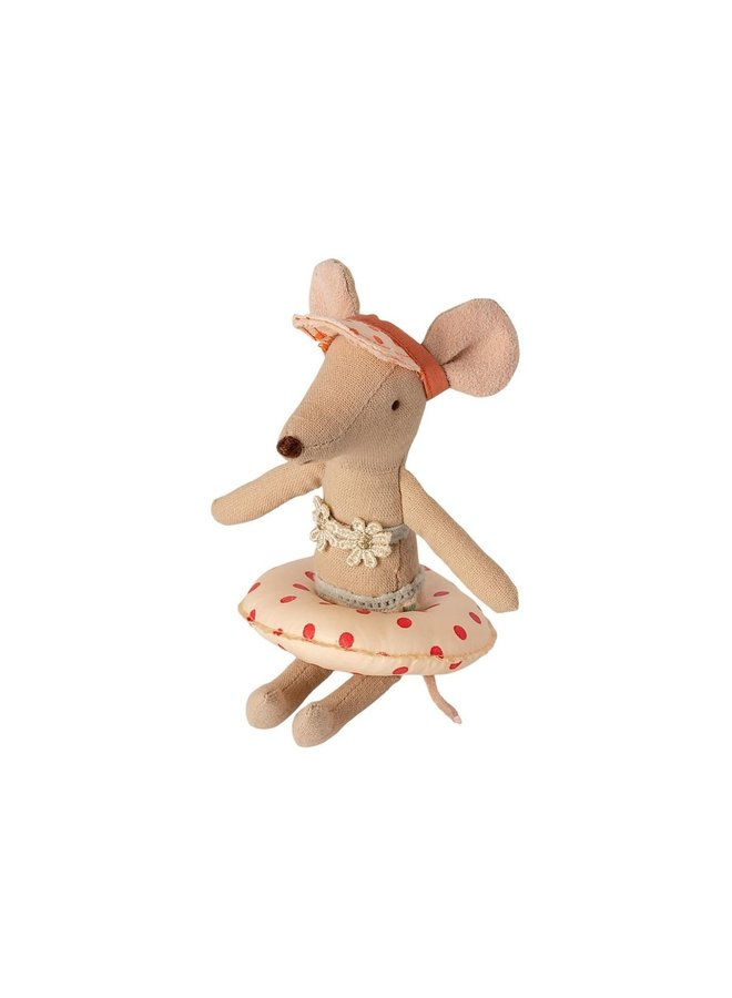 Maileg - Float, small mouse - red dot