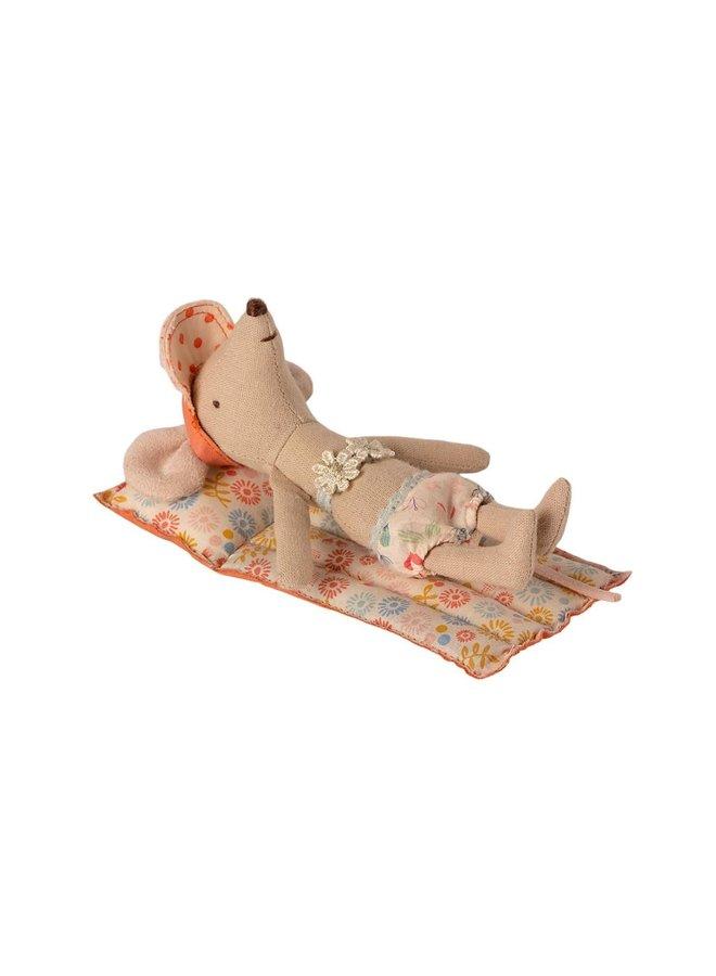 Maileg - air mattress, mouse-flower