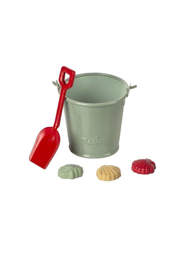 Maileg - beach set shovel, bucket & shells