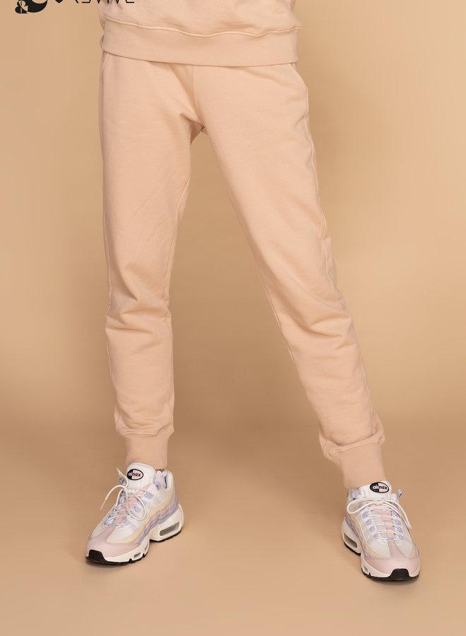 &C x REVIVE - Dames Jogging pants, beige
