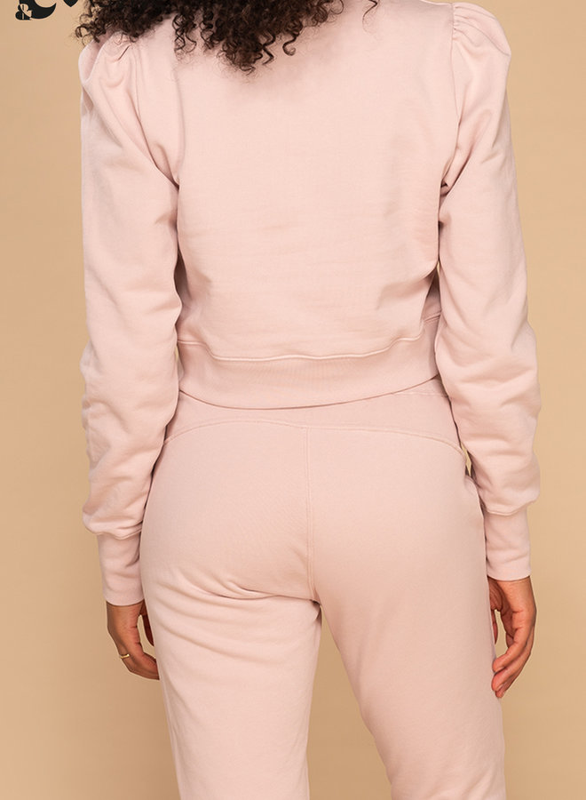 &C x REVIVE - Dames Cropped Sweater, rosa - LET'S DO THIS
