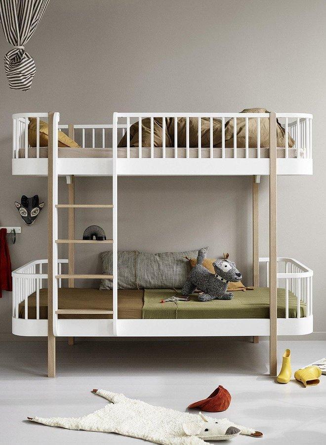 Oliver Furniture Wood original bunk bed white/oak