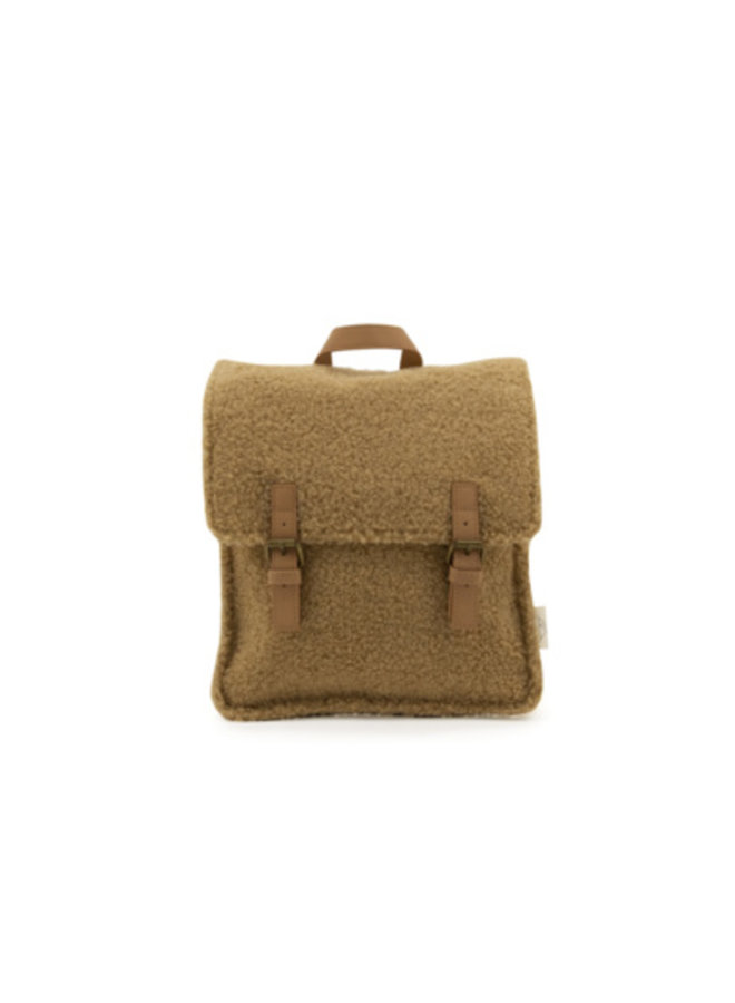 Nanami backpack teddy sand