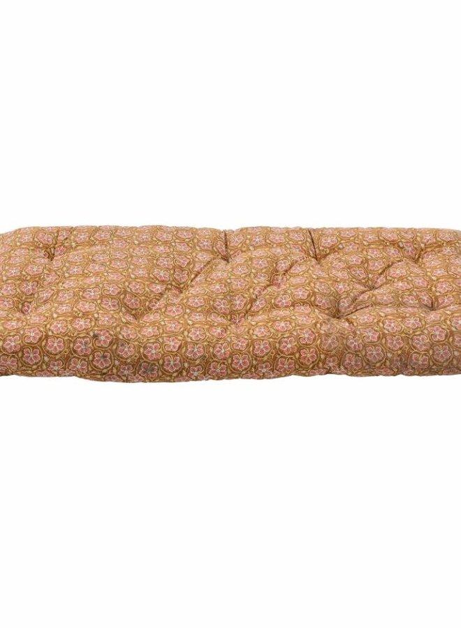 Bloomingville - Kamala Cushion Brown Cotton