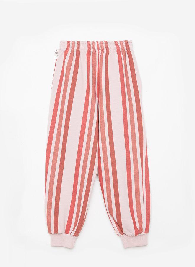 Weekend House Kids - Stripes pants, pastel pink
